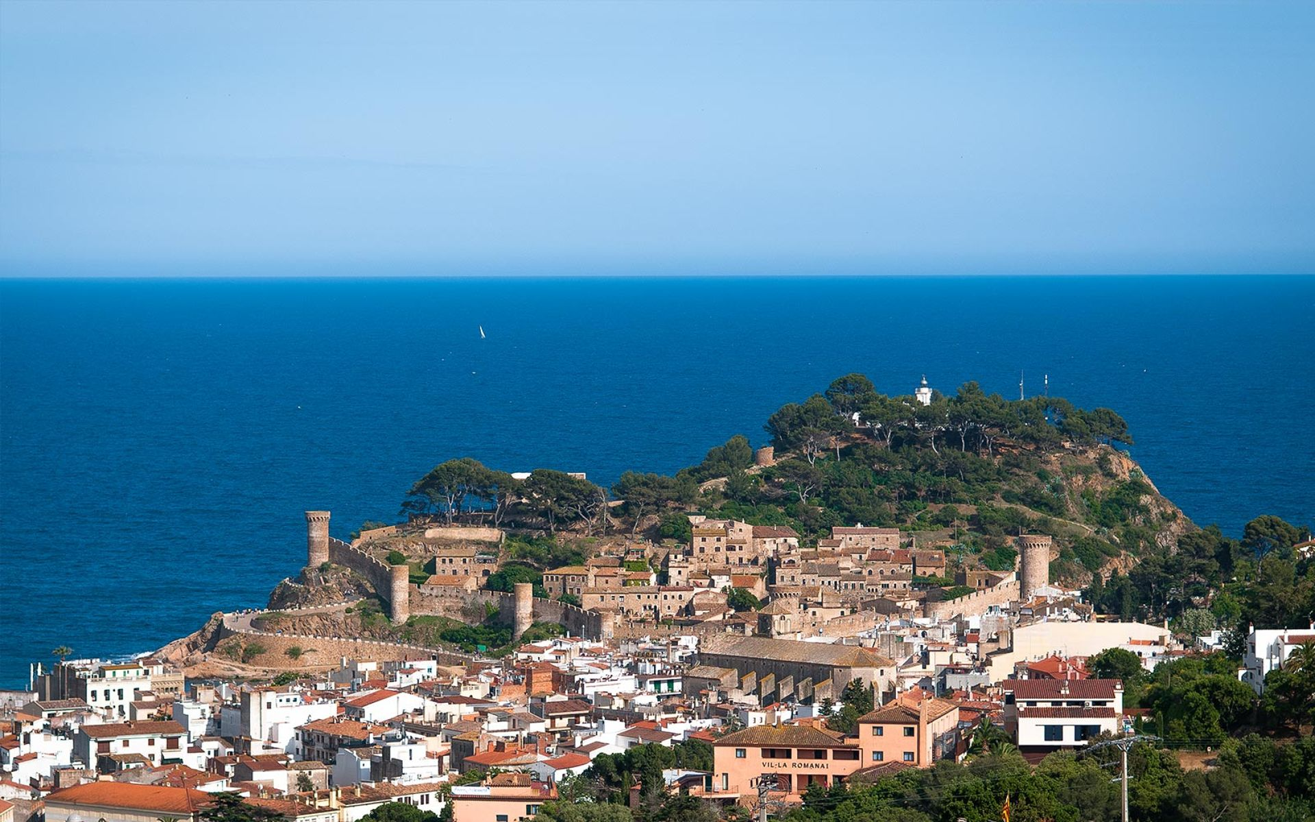 In a magical setting, in the heart of the Costa Brava